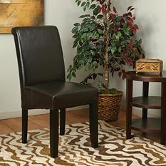 OSP Designs Parsons Dining Chair - Espresso