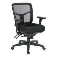 Office Star Products Mid Back Managers Chair