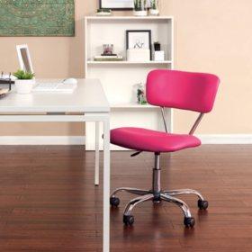 OSP Home Furnishings Vista Task Office Chair in Vinyl, Various Colors