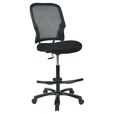 SPACE Seating Big Man's AirGrid Drafting Chair