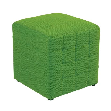 "Avenue Six Detour 15"" Fabric Cube - Green"