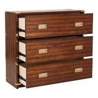 OSP Home Furnishings Wellington 3-Drawer Cabinet, Various Colors
