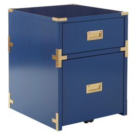 OSP Home Furnishings Wellington 2-Drawer File Cabinet, Various Colors
