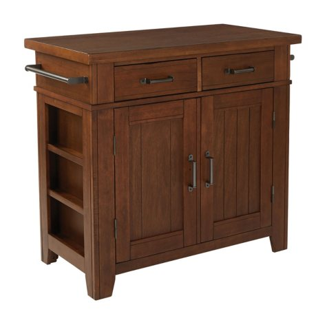 INSPIRED by Bassett Urban Farmhouse Kitchen Island (Assorted Colors)