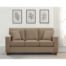 Ave Six, Russell 3-Seater Sofa - Earth
