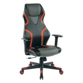 OSP Home Furnishings Rogue Gaming Chair, Assorted Colors