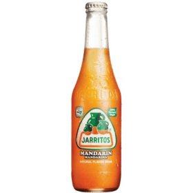 Jarritos Mandarin Soda (12.5 oz. bottles, 30 pk.)
