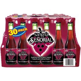 Sangria Senorial Beverage (11.6 oz. bottles, 30 ct.)