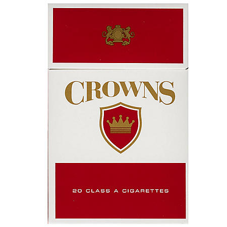 Crowns Red King Box (20 ct., 10 pk.)
