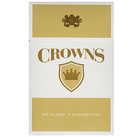 Crowns Gold King Box (20 ct., 10 pk.)
