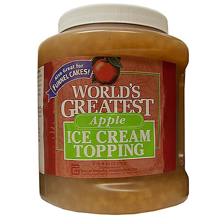 Gold Medal World's Greatest Topping, Apple (66 oz.)
