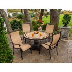 Monaco 5-Piece Outdoor Dining Set