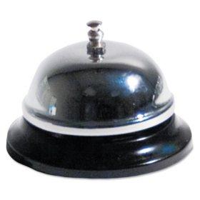 """Advantus - Call Bell, 3 3/8"""" Diameter - Brushed Nickel"""