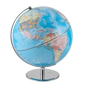 Advantus World Globe, 12 Inches (Choose Color)