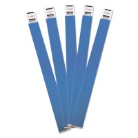 Advantus - Crowd Management Wristbands, Sequentially Numbered, Blue -  500/Pack
