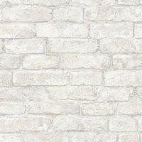 InHome White Denver Brick Peel & Stick Wallpaper - Set of 2