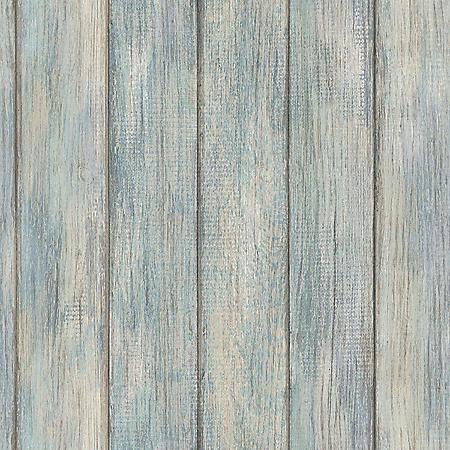 InHome Nantucket Plank Peel & Stick Wallpaper - Set of 2