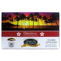 Hawaiian Isles Coffee Single-Serve Cups, Original Blend (80 ct.)