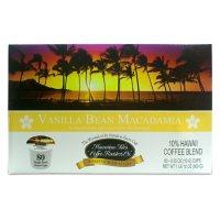 Hawaiian Isles Coffee Single-Serve Cups, Vanilla Bean Macadamia (80 ct.)