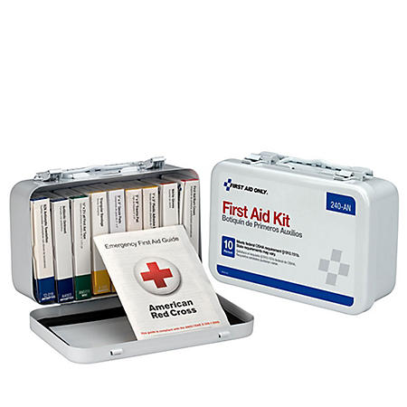First Aid Only 10 person Kit, OSHA Compliant
