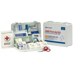 First Aid Only 25 Person Bulk ANSI A First Aid Kit