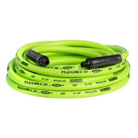 "Flexzilla 3/8"" x 25' Air Hose - 1/4"" MNPT Fittings"