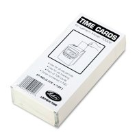 Lathem® Time Universal 2-Sided Time Card