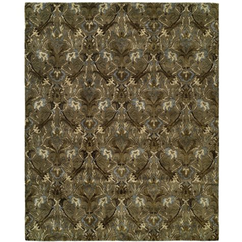 Newport Mansions Collection Hand-Tufted Wool Area Rug, Newport Latte