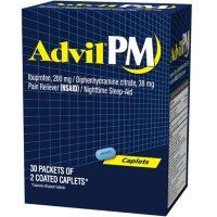 Advil PM, 200mg (30 pouches, 2 caplets each)