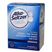 Alka Seltzer, 30 Pouches of 2 Caplets Each