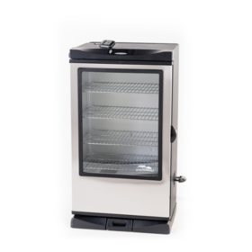 "Masterbuilt 40"" Digital Electric Smoker with Window & Remote"