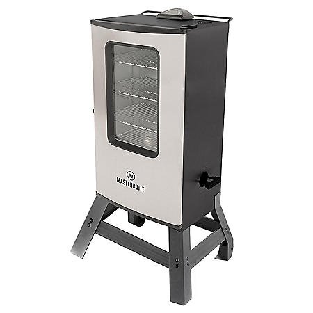 "Masterbuilt MES145S 40"" Digital Electric Smoker with Glass Window"