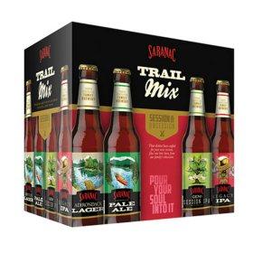 Saranac Trail Mix Variety Pack Beers (12 fl. oz. bottle, 12 pk.)