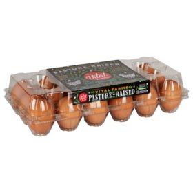Vital Farms Medium Grade A Pasture Raised Eggs (18 ct.)