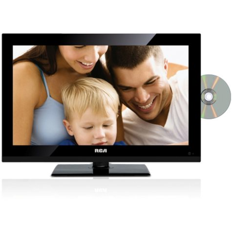 "19"" RCA LED TV/DVD Combo HDTV"