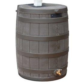 Rain Wizard 50-Gallon Rain Barrel - Oak