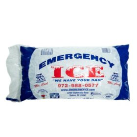 Emergency Ice, Bagged (20 lbs.)