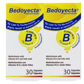 Bedoyecta Multivitamin with B12 and Folic Acid  (60 ct.)