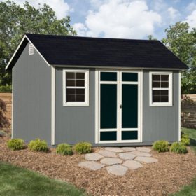 Handy Home Products Parkview 12' x 8' Wood Storage Shed