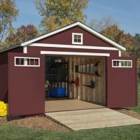 Handy Home Products Coachman 12ft x 20ft Wood Storage Shed Deals
