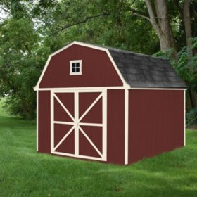 Handy Home Products Westbury 10' x 14' Wood Storage Shed