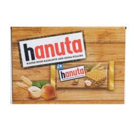Hanuta Wafers Filled with Hazelnut Creme (18pk/2pc each)