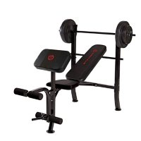 Deals on Marcy Standard Weight Bench with 80-lb. Weight Set, MKB-2081