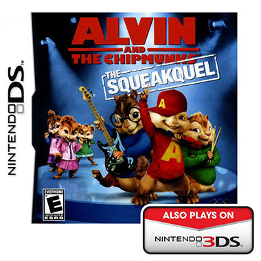 Alvin and the Chipmunks: The Squeakquel - NDS