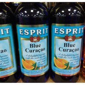 Esprit Blue Curacao Liqueur (750 ml)