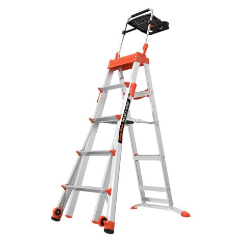 Little Giant Select Step 5'-8' Adjustable Step Ladder