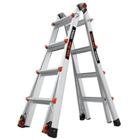 Little Giant Versa Multi-Use Aluminum Type 1A Ladder Model 17
