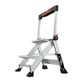 Little Giant Ladder Systems Jumbo Step 2-Step Step Stool