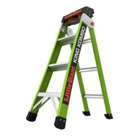 Little Giant King Kombo 3-in-1 Pro Fiberglass Ladder M4