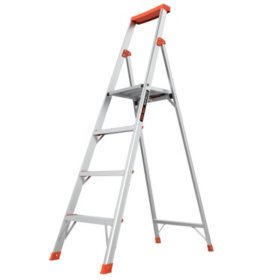 Little Giant Ladder Systems Flip-N-Lite M6 Aluminum Step Ladder